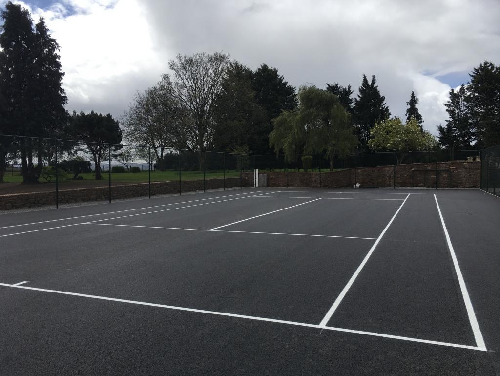 Tennis Court Marking Taunton Photo