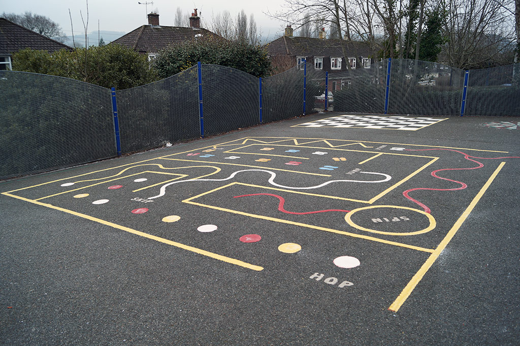 Schools Playground Marking in Bovey Tracey - Our Competition Winner! Photo
