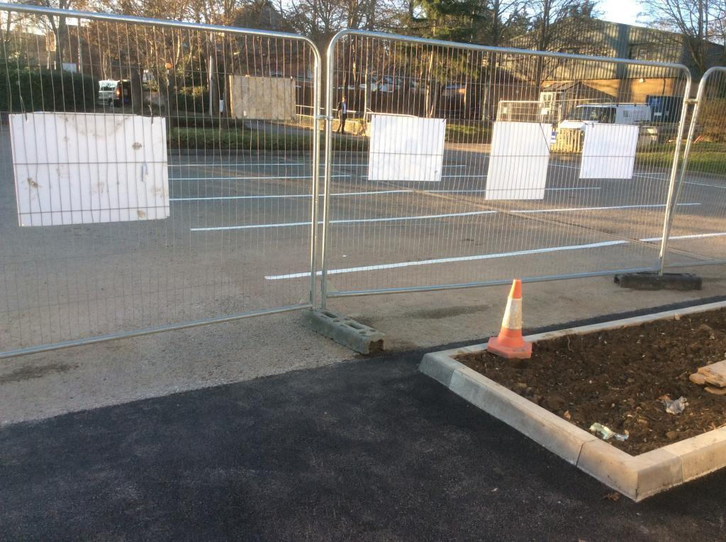 School Line Marking in Yeovil Photo